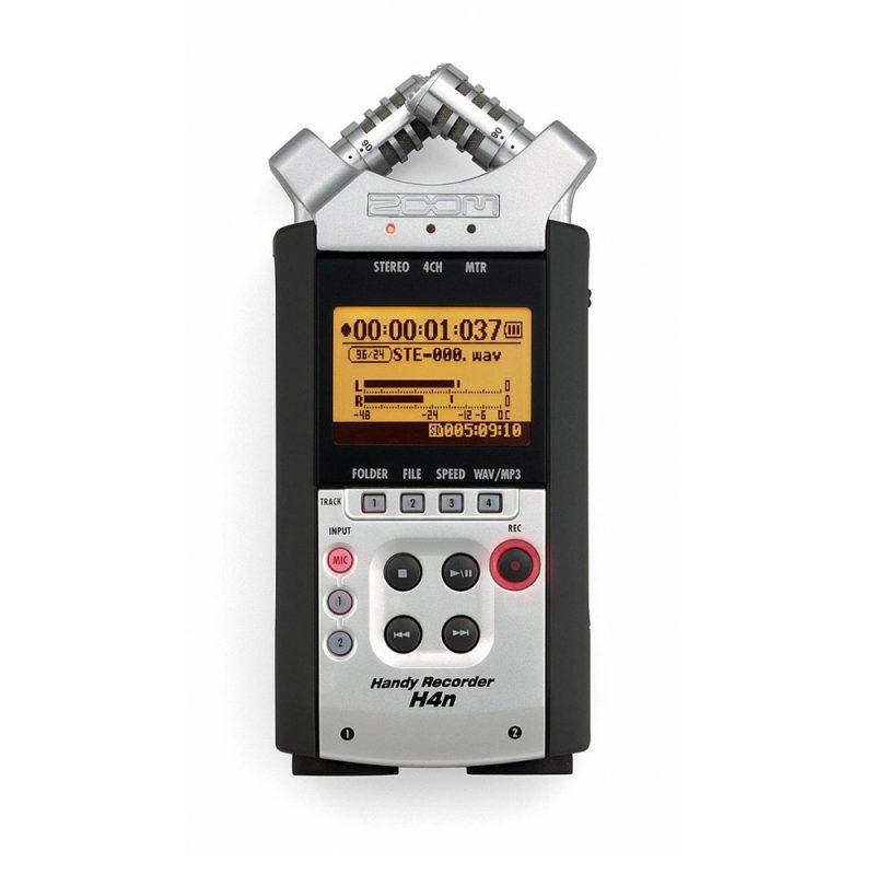 Gravador de Áudio Zoom H4n