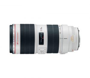 Lente Canon Zoom Telephoto EF 70-200mm f/2.8L IS II USM