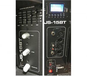Caixa Ativa c/ Bluetooth e USB JBL JS-15BT
