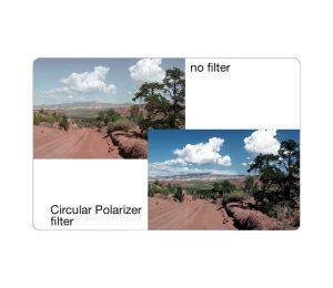 Filtro Polarizador de 77mm Tiffen