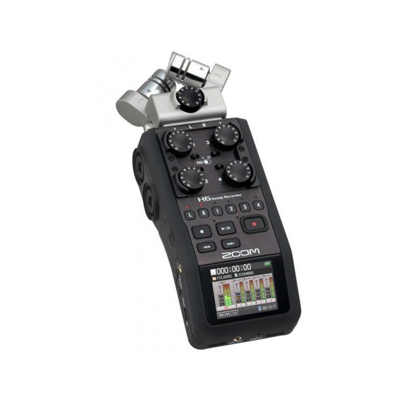 Gravador De Áudio Digital Zoom H6