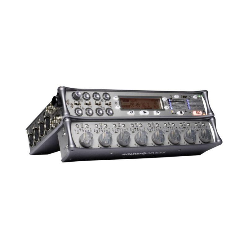 Gravador Sound Devices 788T + Painel de Controle CL-8