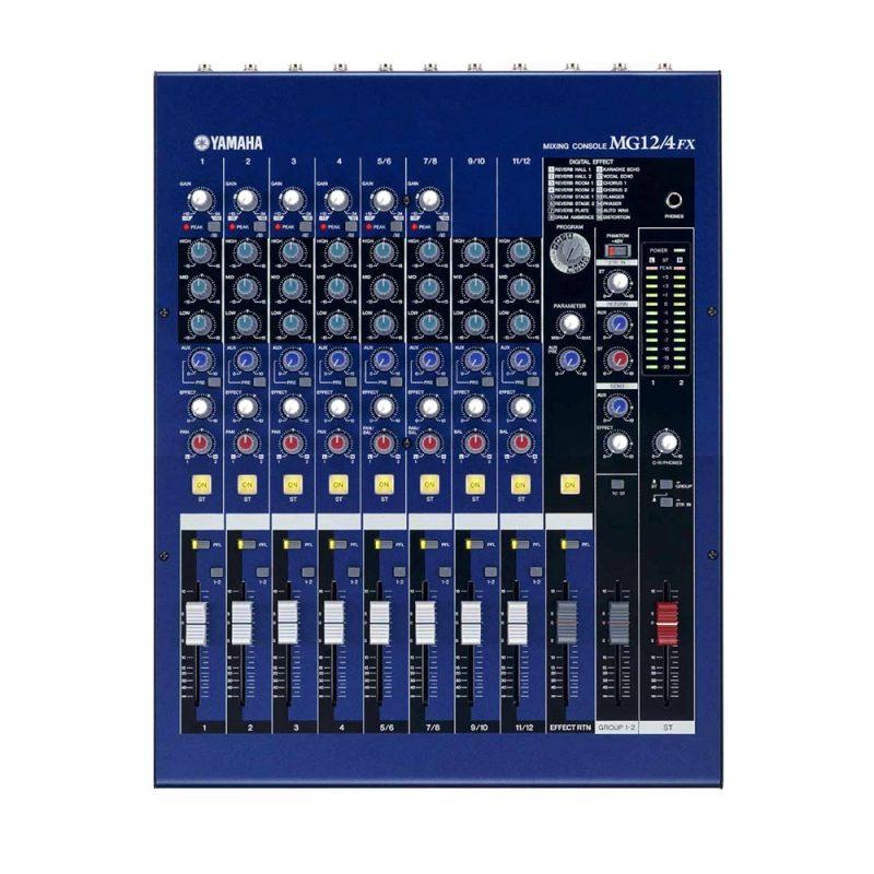 Mixer de Áudio Yamaha MG124FX