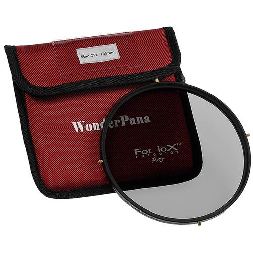 Filtro Polarizador 145mm com suporte para lentes grande angular Rokinon