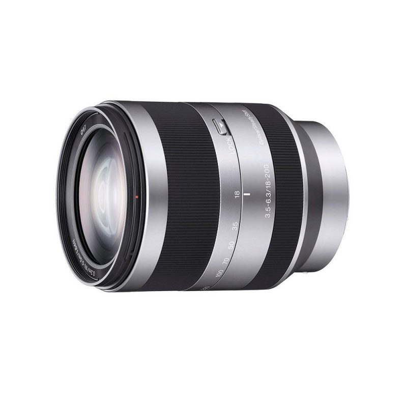 Lente Sony Zoom E-Mount 18-200mm