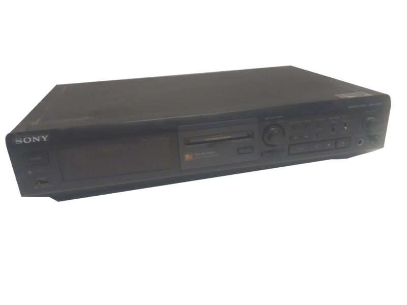 Mini Disk Deck Sony MDS-JE510s