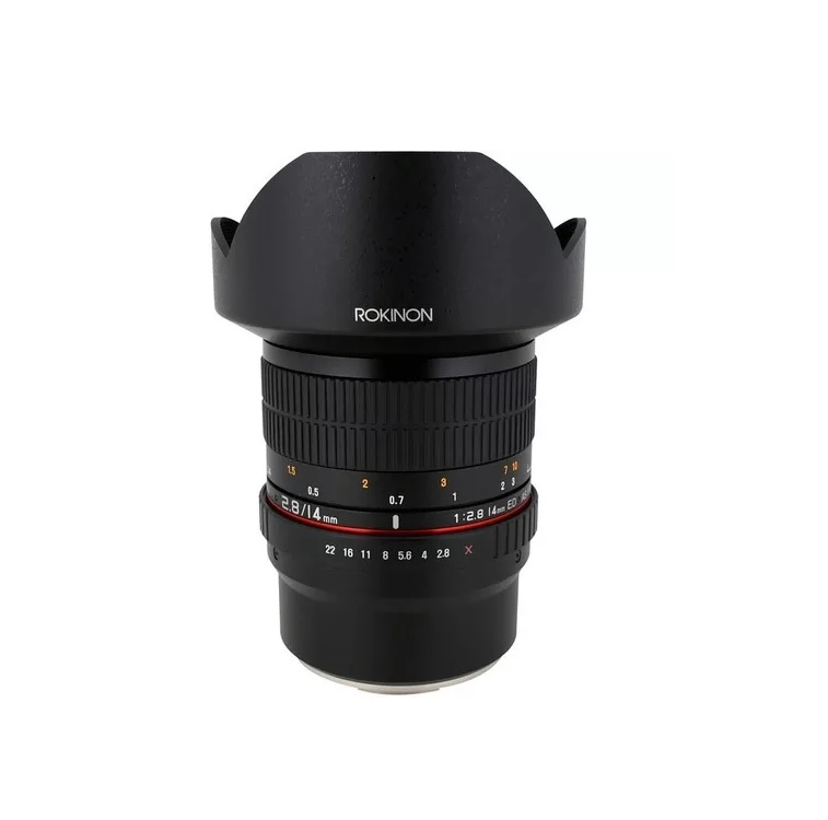 Lente Rokinon 14mm F/2.8 Ed As If Umc Para Sony E-mount