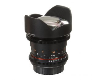 Lente para Canon EF Mount 14mm T3.1 Cine ED AS IF UMC