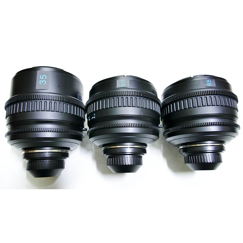 Kit Lentes Sony Bocal PL 35mm / 50mm / 85mm