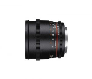Lente 85mm T1.5 EF-Mount